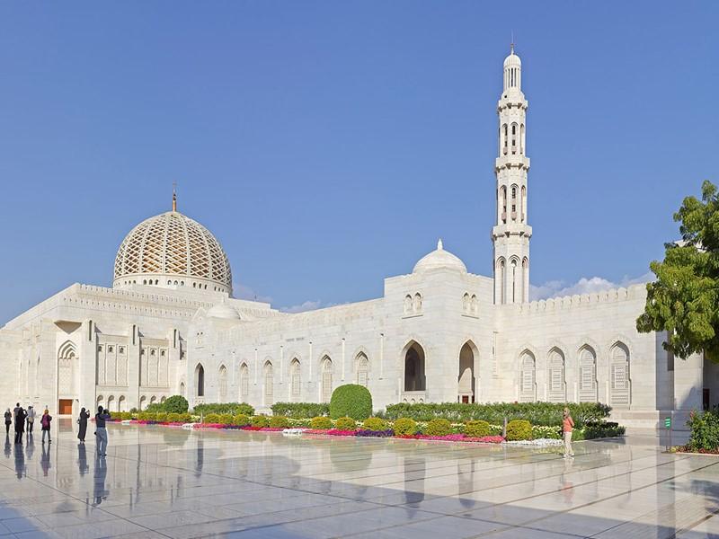 La Grande Mosquée Sultan Qaboos de Mascate