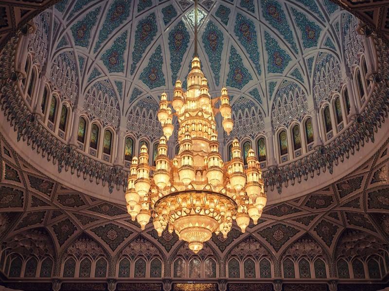 La Grande Mosquée de Sultan Qaboos