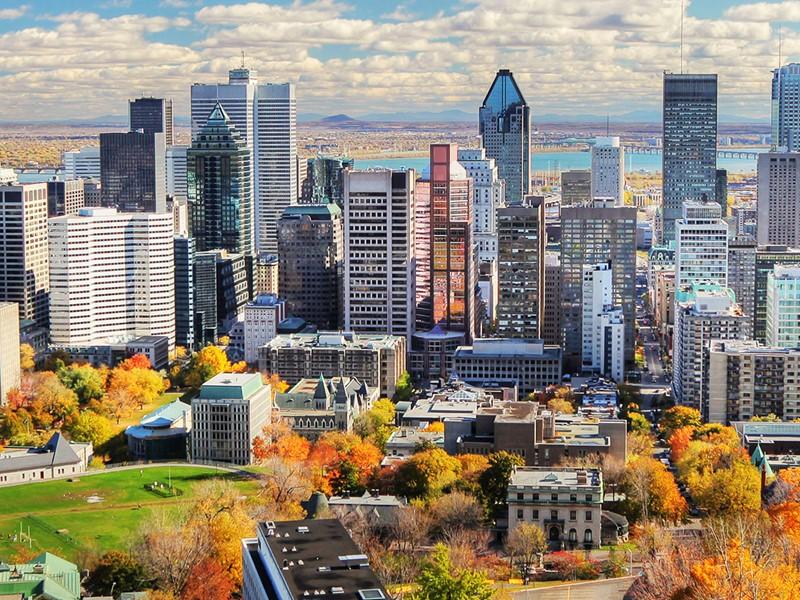 Commencez votre voyage dans la charmante ville de Montréal