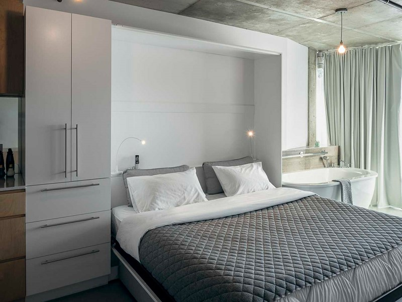 Vous bénéficierez d'appartement ultra équipés, et designé avec un style très urbain