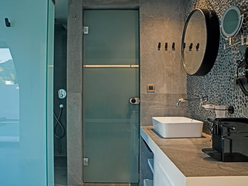 La salle de bain de la Bohemian Suite