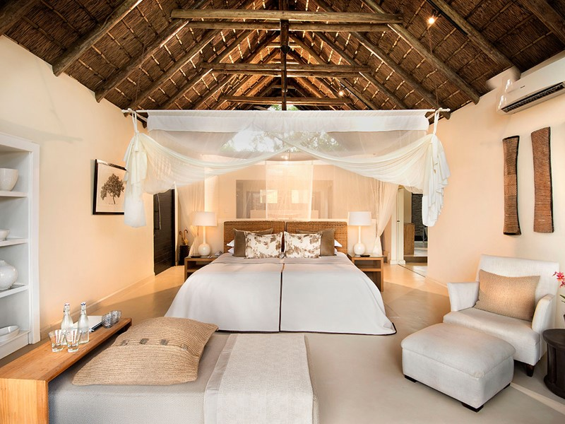 Superior Luxury Room du River Lodge du Lion Sands
