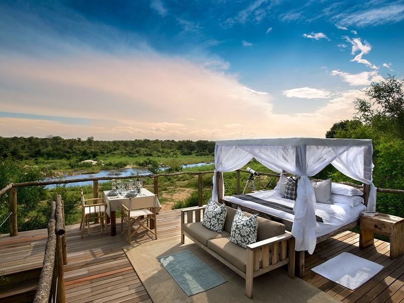 Tinyeleti Treehouse du Lion Sands en Afrique du Sud