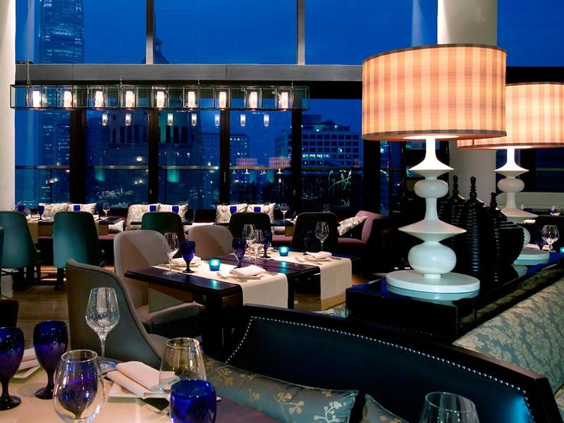 Autre vue de l'Azure Restaurant Slash Bar de l'hôtel LKF by Rhombus en Chine