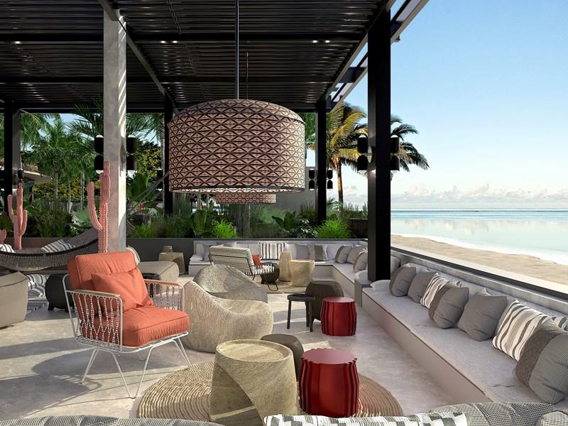 Le Beach Rouge, le restaurant et club de plage