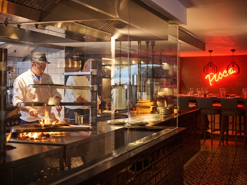Ambiance latine au restaurant Inti