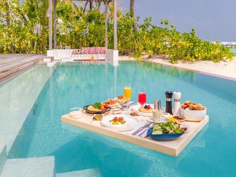 Profitez d'un petit déjeuner flottant