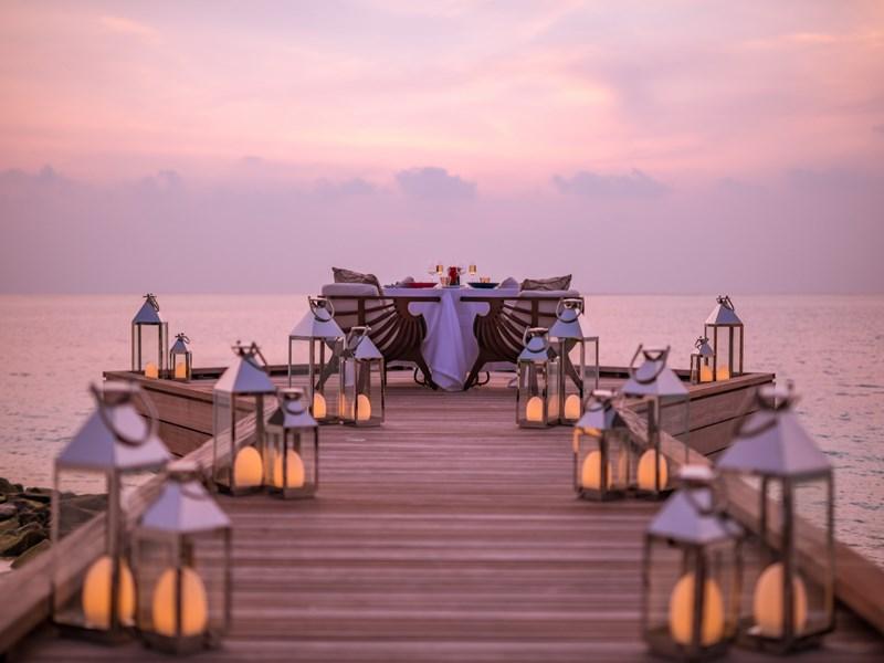 Somptueux dîner romantique