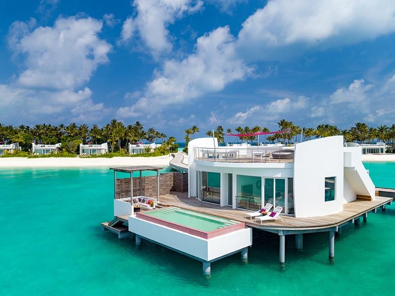 Villa Pilotis du LUX* North Malé aux Maldives