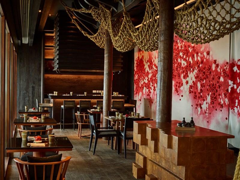 Cuisine japonaise moderne au restaurant Umami