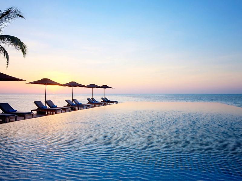 La piscine de l'hôtel