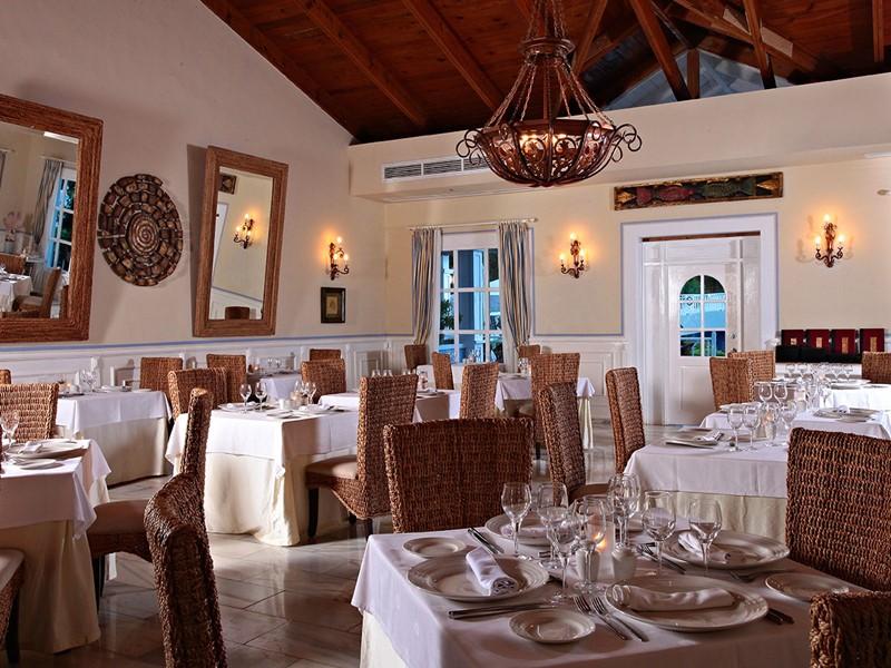 Le restaurant Mediterraneo du Luxury Bahia Principe Cayo Levantado
