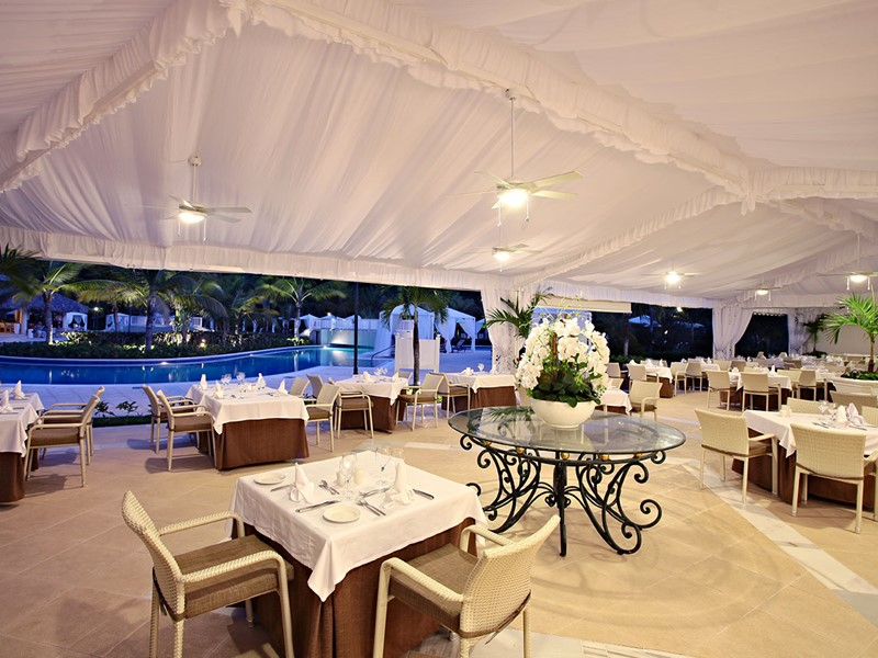 Le restaurant Rodizio du Luxury Bahia Principe Cayo Levantado
