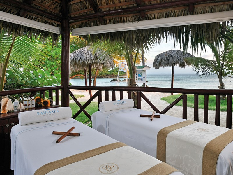 Le spa de l'hôtel 5 étoiles Luxury Bahia Principe Cayo Levantado