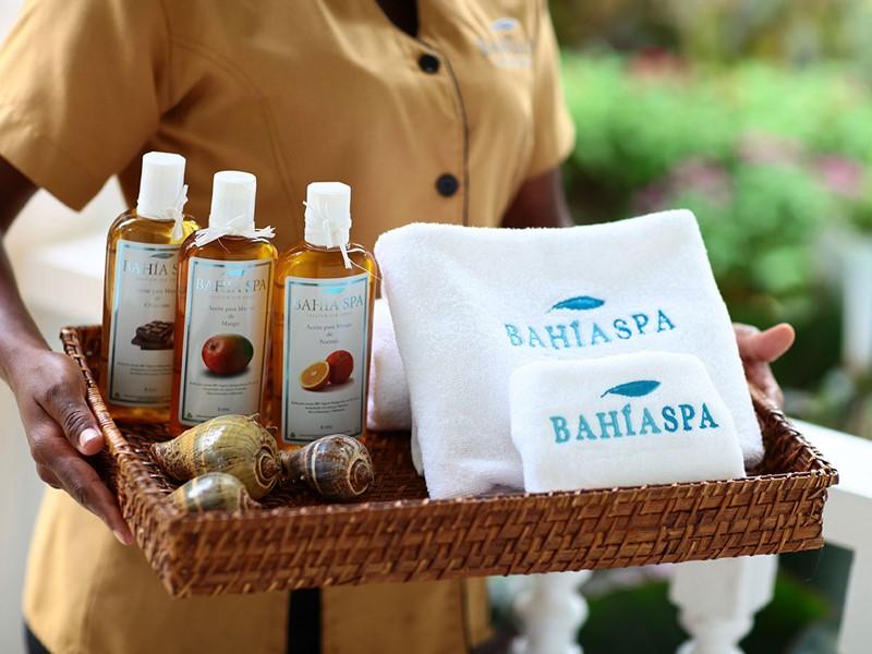 Produits de soin naturels du spa du Luxury Bahia Principe
