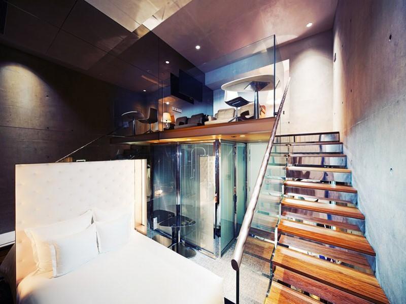 Loft Gallery Room de l'hôtel M Social à Singapore