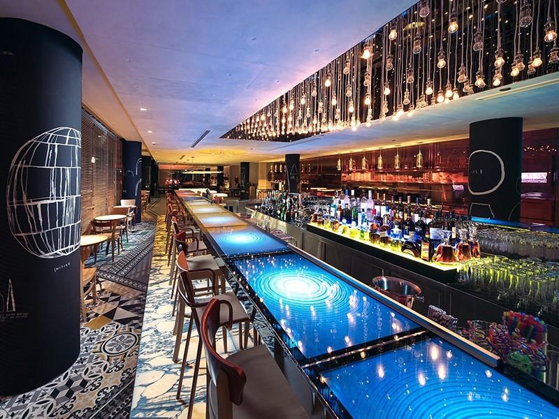Le Beast & Butterflies Bar de l'hôtel M Social Singapore