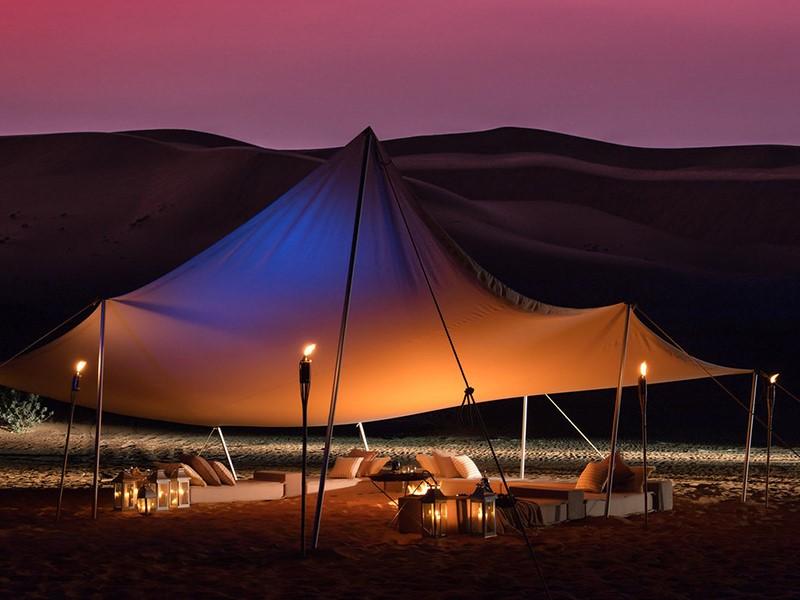 Somptueux dîner sous les étoiles au Magic Private Camps
