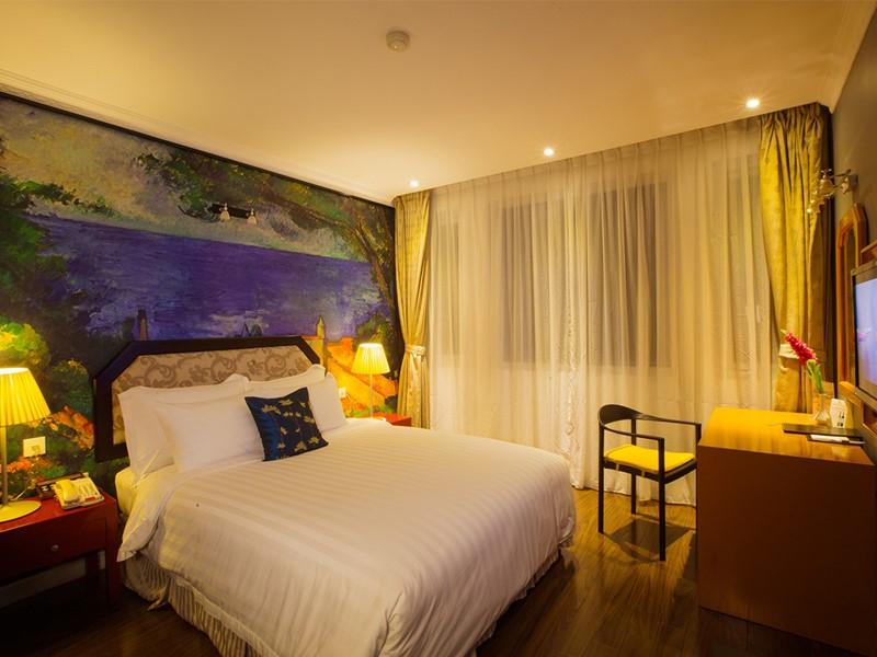Chambre Deluxe de la Maison Hanova Hotel à Hanoi