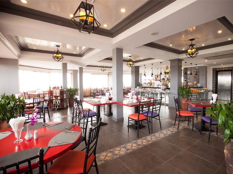 Restaurant de l'hôtel Maison d'Hanoi Hanova Hotel situé au Vietnam