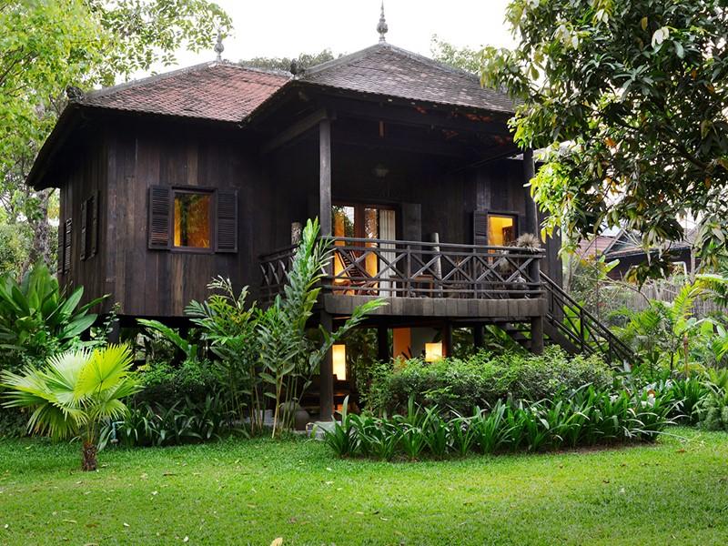 Vue extérieure de la Khmer House