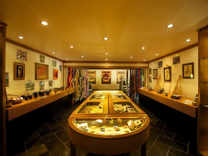La boutique souvenir du Maitai Lapita Village