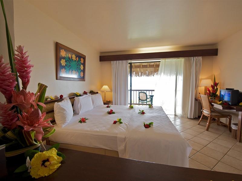 Chambre Vue Océan de l'hôtel Maitai Polynesia