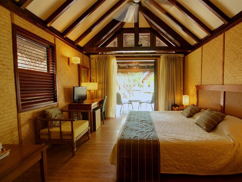Bungalow Jardin de l'hôtel Maitai Rangiroa