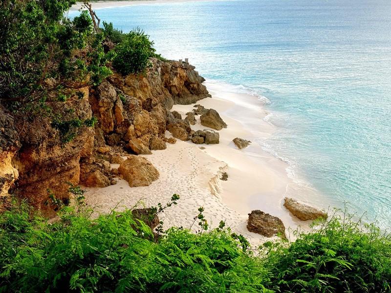 Le Malliouhana est installé dans un cadre paradisiaque à Anguilla