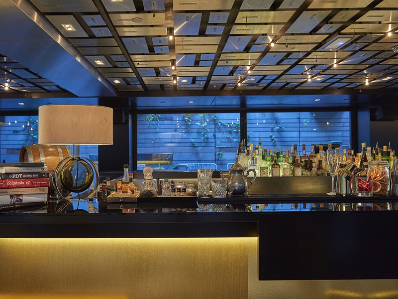 Banker's Bar de l'hôtel Mandarin Oriental en Espagne