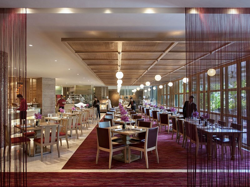 Restaurant Melt Café du Mandarin Oriental Singapore