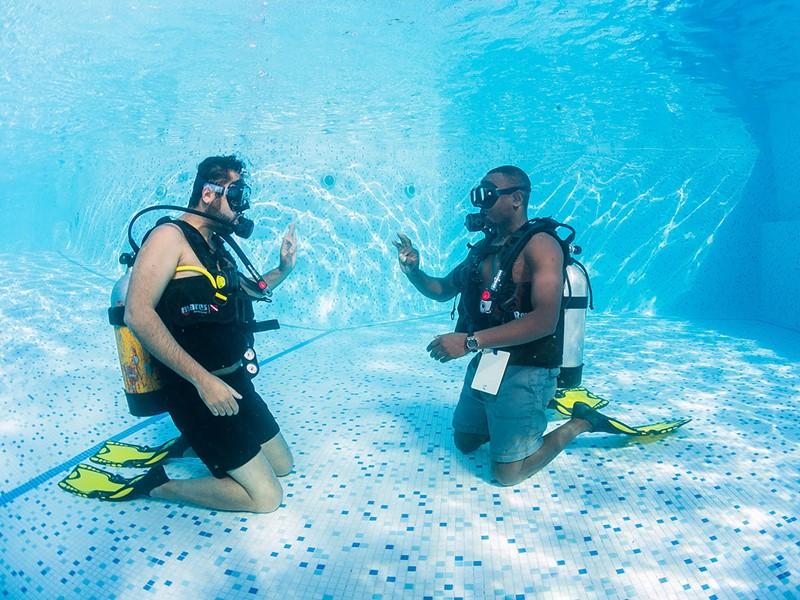 Initiation à la plongée