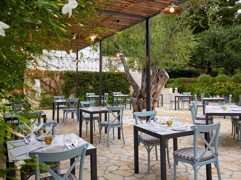 Menus style grec traditionnel au restaurant Platea
