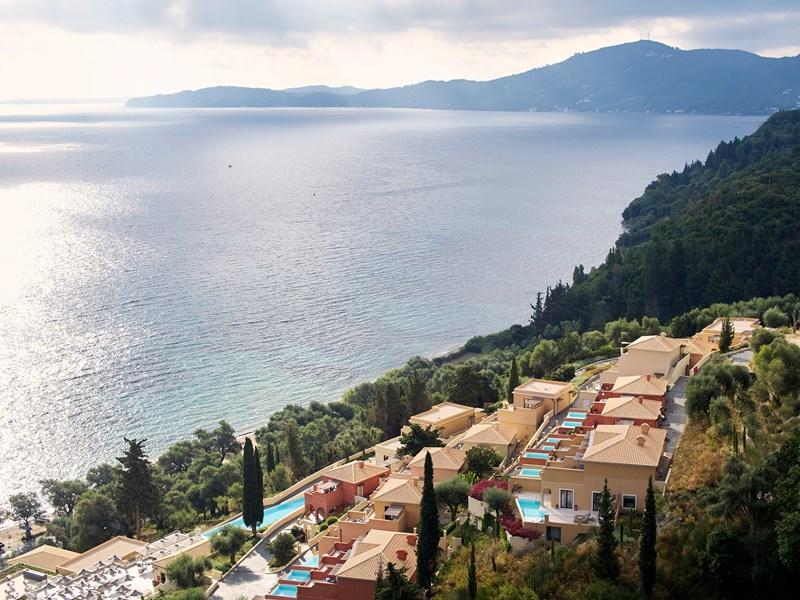 Vue aérienne du Marbella Nido