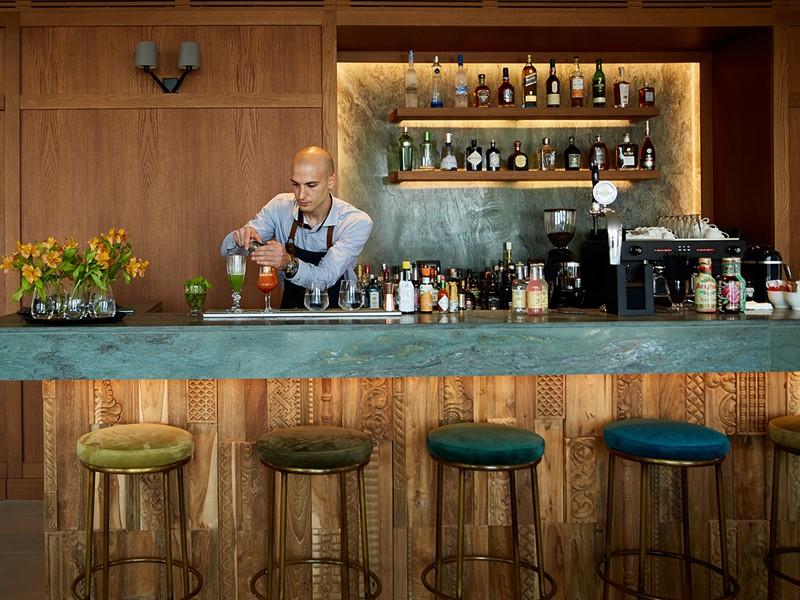 Délicieux cocktails à l'Heritage Lobby Bar