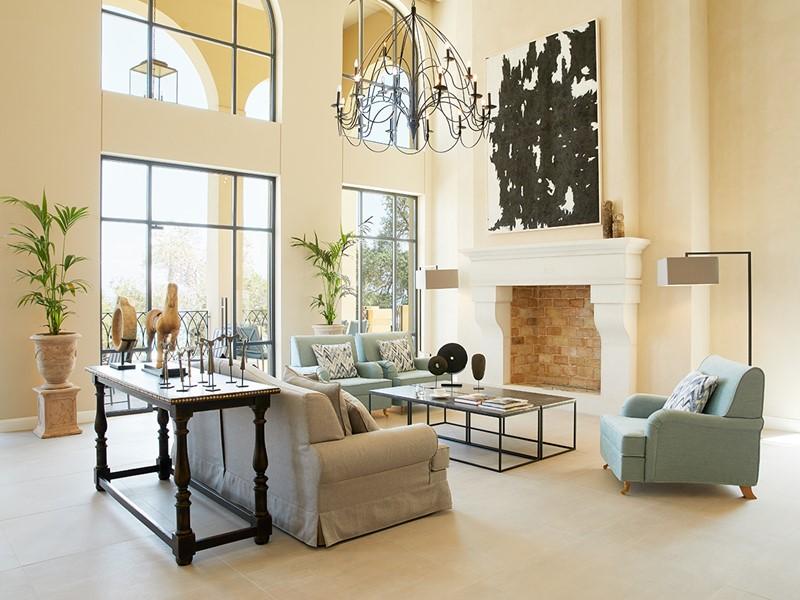 Le lobby du Marbella Nido