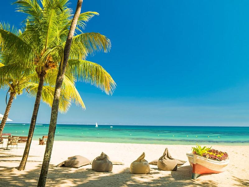 La plage de l'hôtel Maritim Resort à Balaclava