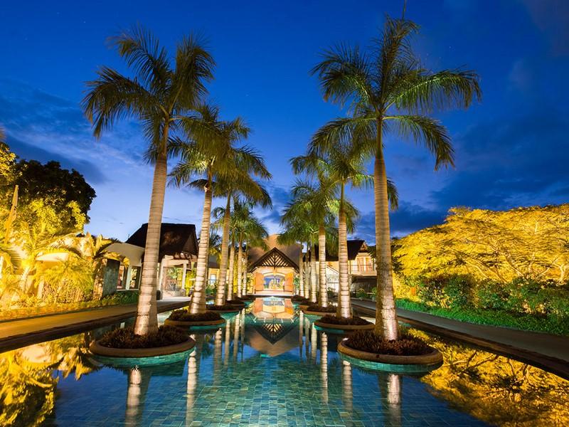 L'entrée du Maritim Resort situé à l'île Maurice