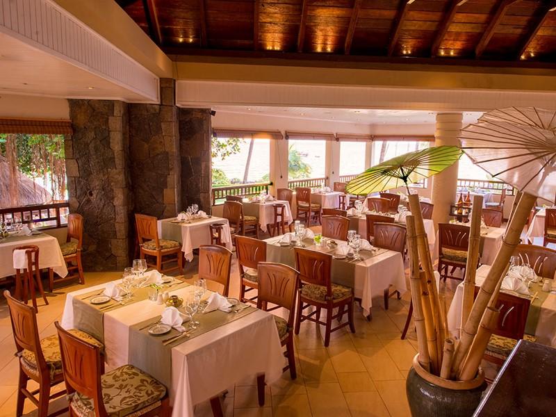 Le restaurant Le Banyan du Maritim Resort à Balaclava