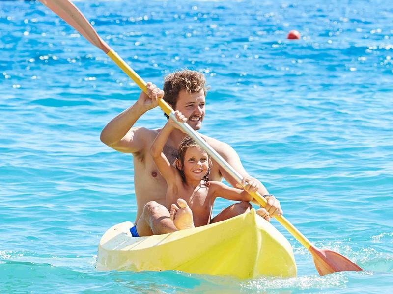 Profitez des nombreuses activités nautiques du Marpunta