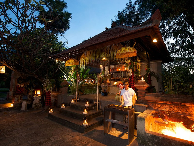 Le restaurant Paun Bali du Matahari Beach Resort