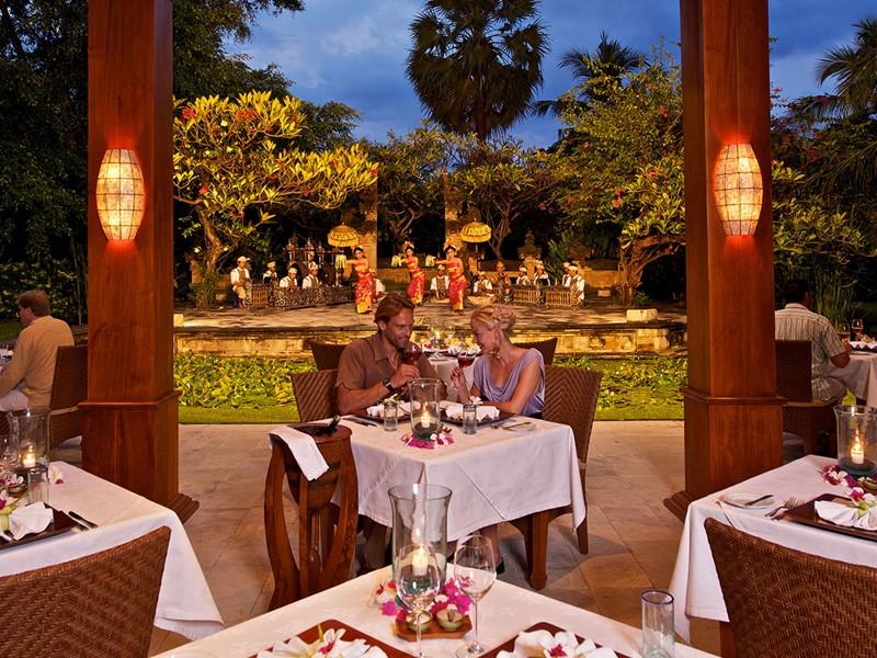 Autre vue du Dewi Ramona Restaurant