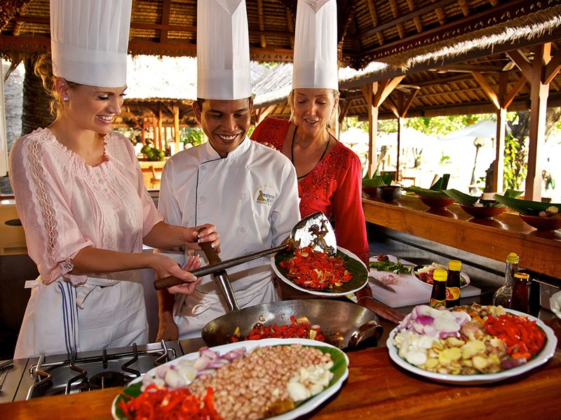 Cours de cuisine au Matahari Beach Resort & Spa