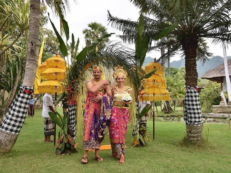Mariage au Matahari Beach Resort à Bali