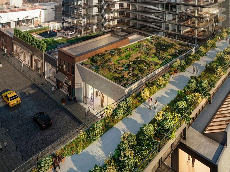 Découvrez la High Line, une ancienne voix de chemins de fers abandonnée puis réhabilitée en promenade éco-responsable