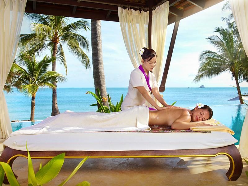 Profitez des somptueux soins du spa du Melati