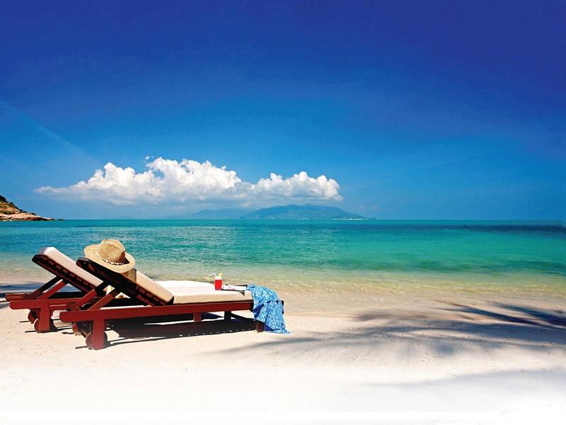 La superbe plage du Melati Beach Resort en Thailande