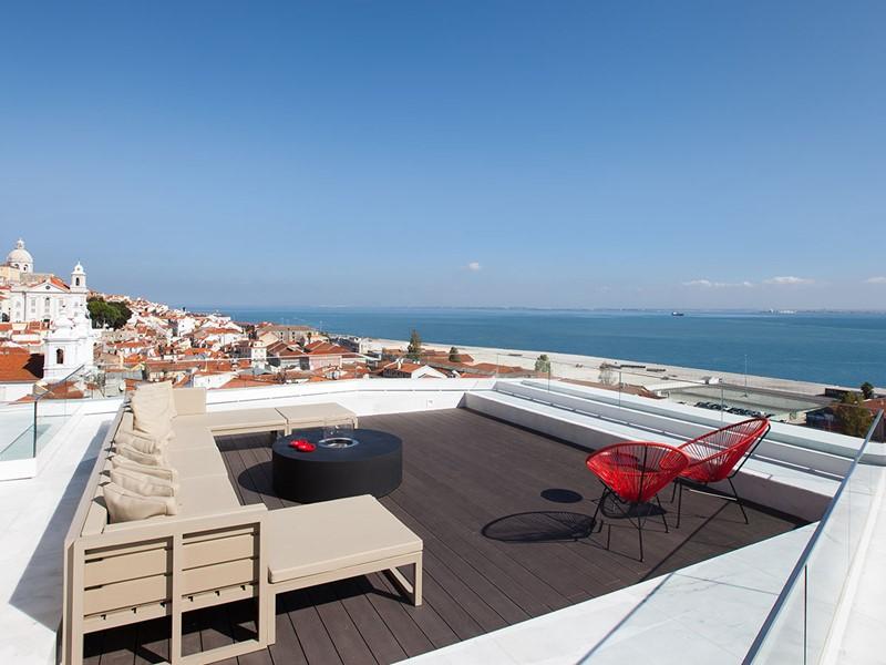 La terrasse rooftop