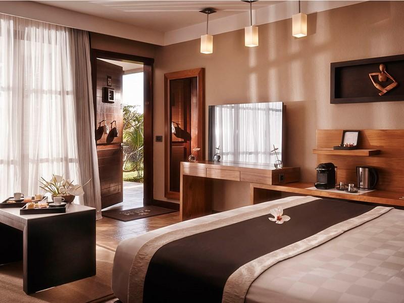 Chambre luxe du Palm Hôtel & Spa de la Réunion