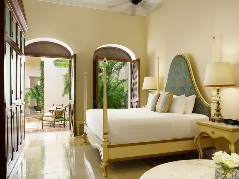 Les chambres du Casa Lecanda